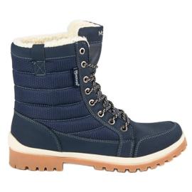 Bleu Bottes neige MCKEYLOR