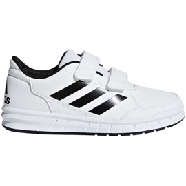 Blanc Chaussures Adidas AltaSport Cf Jr D96830