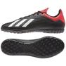 Chaussures de foot adidas X 18.4 Tf M BB9412 noir noir