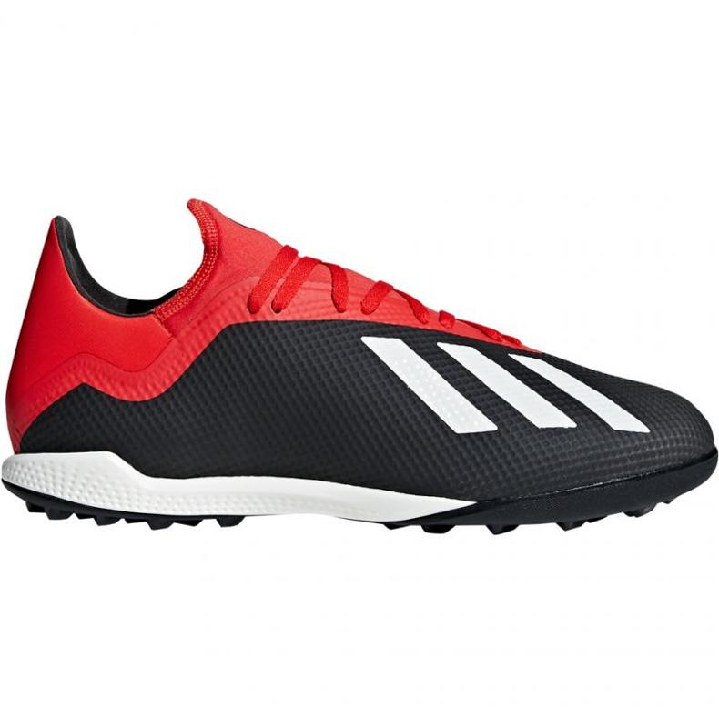 Chaussures de foot adidas X 18.3 Tf M BB9398 noir noir