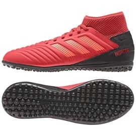 Chaussures de foot adidas Predator 19.3 Tf Jr CM8547 rouge rouge