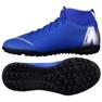 Nike Mercurial SuperflyX 6 Academy Tf Jr AH7344-400 bleu bleu