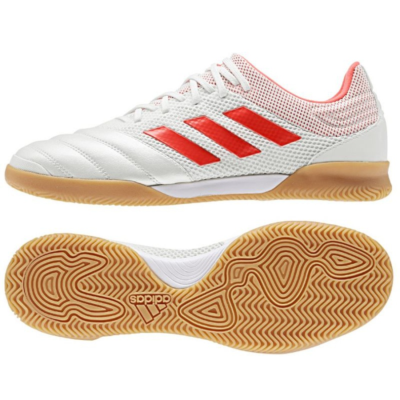 Chaussures Indoor adidas Copa 19.3 IN Room M D98065 blanc