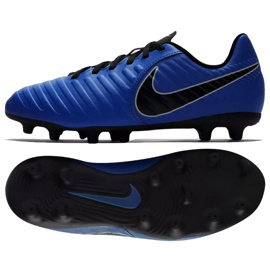 Chaussures de football Nike Jnr Tiempo Legend 7 Club Mg Jr AO2300-400