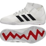 Chaussures Indoor adidas Nemeziz 18.3 In Jr CM8514 blanc blanc