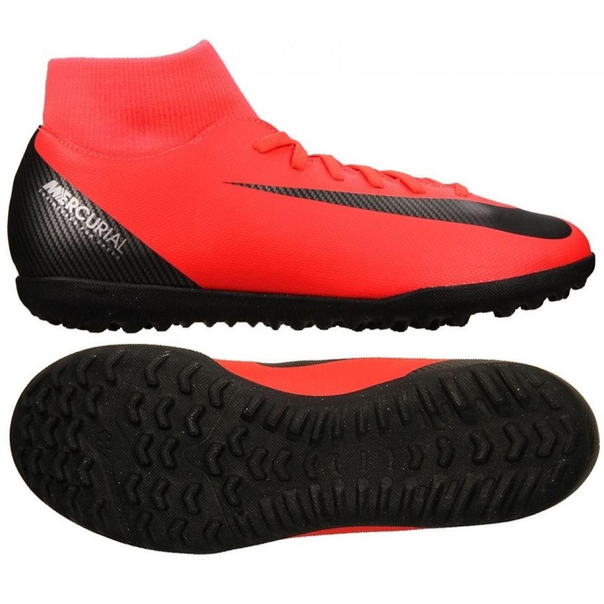 Nike X Club Football Chaussures Aj3570 M Cr7 600 Tf Superfly Mercurial 6 De ikZOPuX