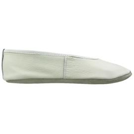 Blanc Chaussures de ballet de gymnastique