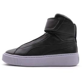 Chaussures Puma Platform Mid Wn s W 364242 03 noir