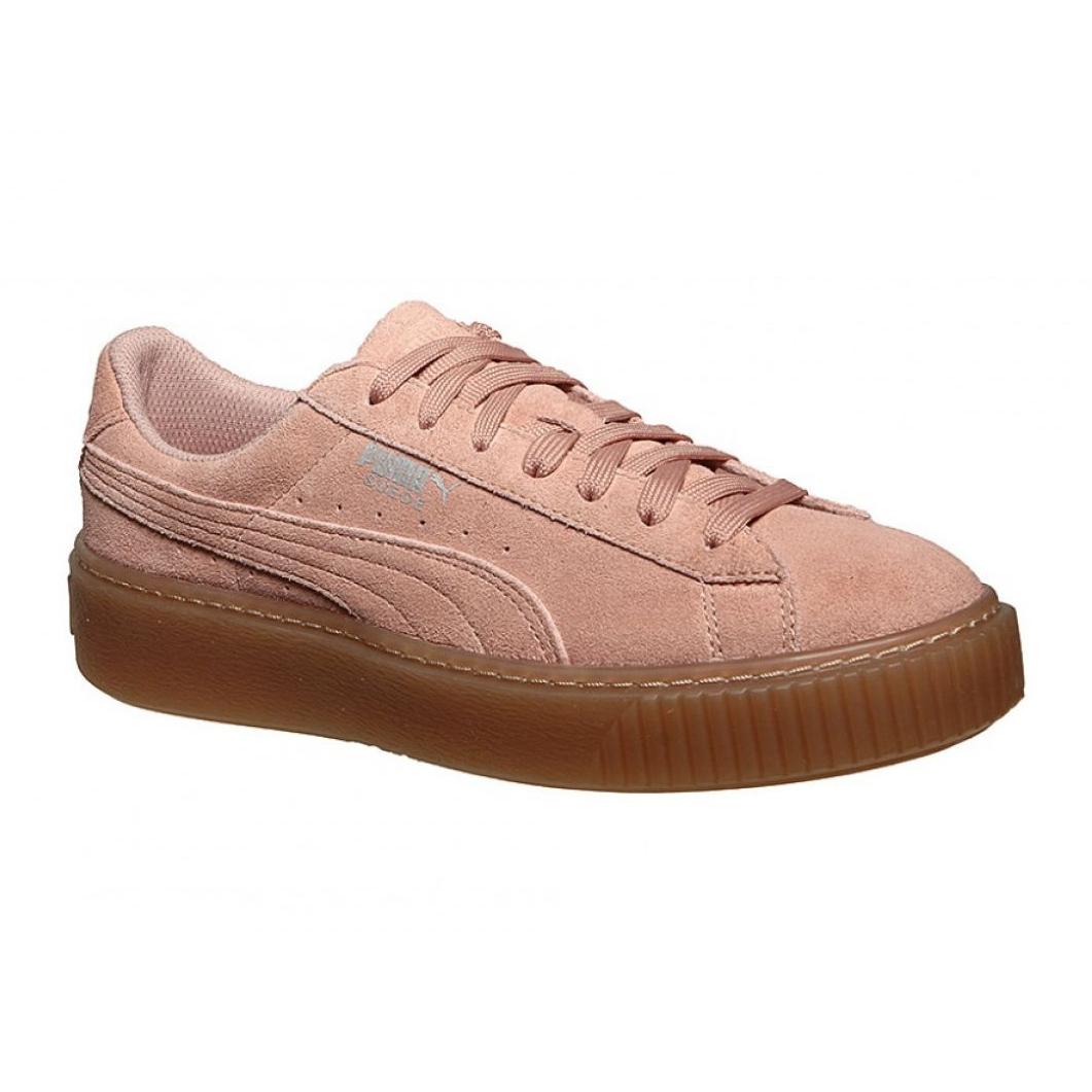 Chaussures Puma Suede Platform Jewel Jr. 365131 01