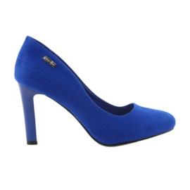 Sergio Leone Escarpins en daim 1457 bleu