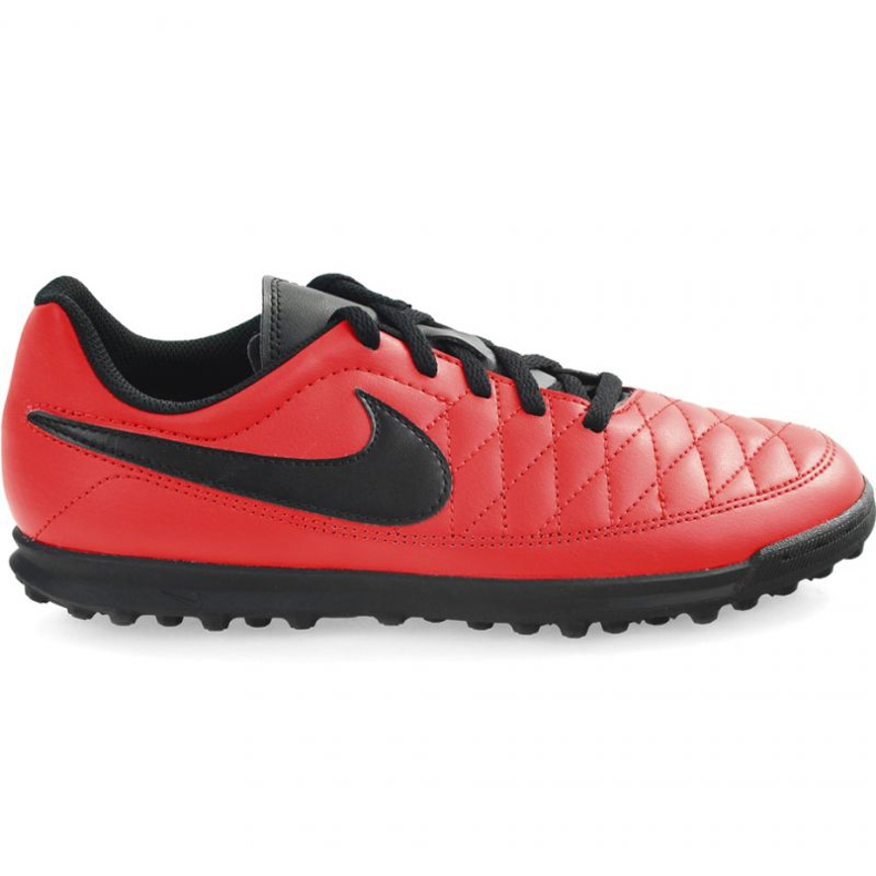 Chaussures de football Nike Majestry Tf M AQ7901-600 rouge rouge