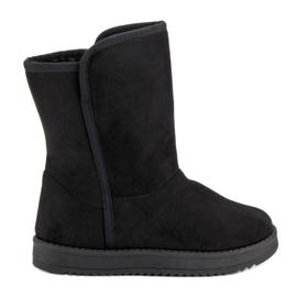 R'S Flocons de neige noirs classiques