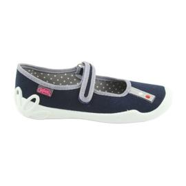 Befado bleu marine chaussures 114Y317