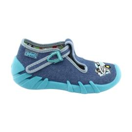 Bleu Befado chaussures pour enfants 110P320