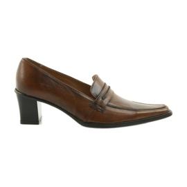 Chaussures en cuir Eksbut 864 brun