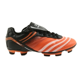 Chaussures de football Atletico FG Jr 14-1216 noir, orange orange