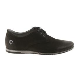 Noir Riko chaussures de sport à talons bas 877