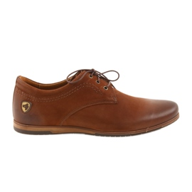Brun Riko chaussures de sport à talons bas 877
