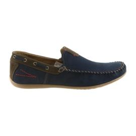 Riko Chaussures Mocassins Homme Bleu 781