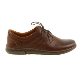Brun Riko bottes pour hommes chaussures marron 870