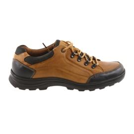 DK Chaussures de sport pour hommes camel 0493