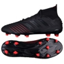Chaussures de foot adidas Predator 19.1 Fg M BC0551 noir noir