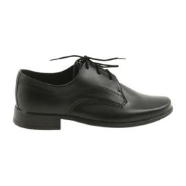 Noir Miko chaussures chaussures enfants garçons communion