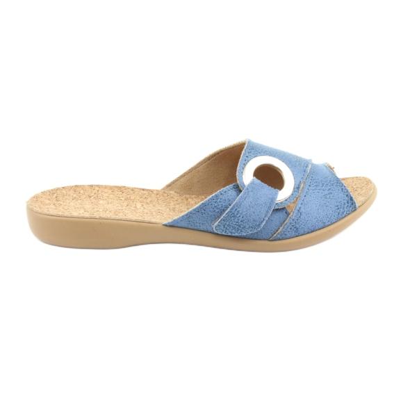 Befado chaussures pour femmes pu 265D015 bleu