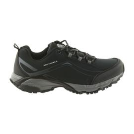 American Club ADI attaché chaussures de sport américain imperméable doux WT04 / 19 noir