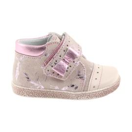 Chaussons Velcro Chaussures bébé Ren But 1535 flamants roses