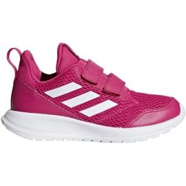 Rose Adidas AltaRun Cf K Jr CG6895 chaussures