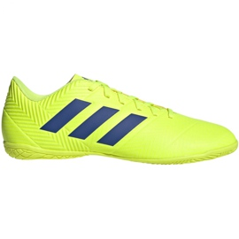 Chaussures Indoor adidas Nemeziz 18.4 In M BB9469 jaune jaune