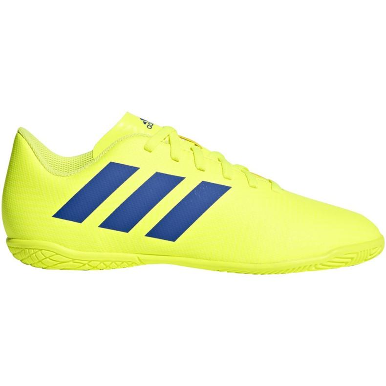Chaussures Indoor adidas Nemeziz 18.4 In Jr CM8519 jaune jaune