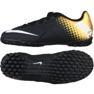 Chaussures de football Nike Bomba X Tf Jr 826488-077 noir noir