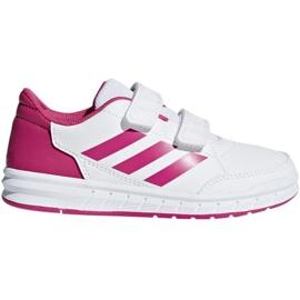 Blanc Chaussures Adidas AltaSport Cf K Jr D96828