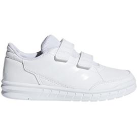 Blanc Chaussures Adidas AltaSport Cf K Jr D96832