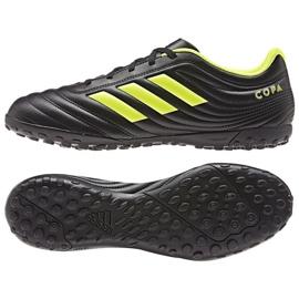 Chaussures de football Adidas Copa 19.4 Tf M BB8097 noir noir