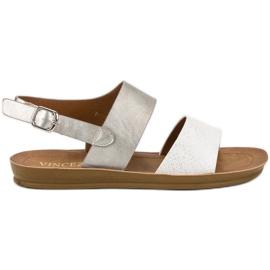 Sandales VINCEZA confortables gris