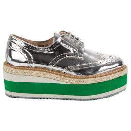 Corina Chaussures compensées à la mode gris