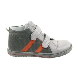 Ren But Bottes Velcro pour enfants Boote shoes Ren 4275 gris / orange