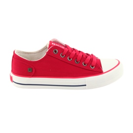 Baskets attachées rouge Big Star 274339