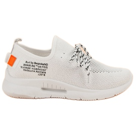 Mckeylor blanc Slip Chaussures De Sport