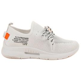 Mckeylor Slip Chaussures De Sport blanc