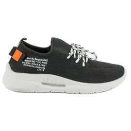 Mckeylor noir Slip Chaussures De Sport