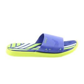 Pantoufles pour hommes pour la piscine de lime Atletico