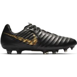 Chaussures de football Nike Tiempo Legend 7 Pro Fg M AH7241-077 noir noir