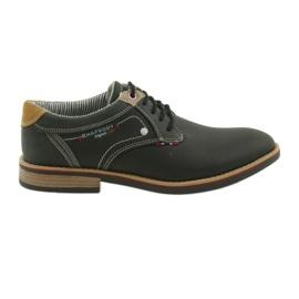 American Club noir Bottes pour hommes chaussures Rhapsody RH 08/19