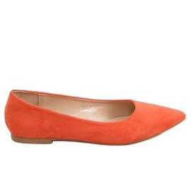 Ballerine orange pour femme 3157 Orange