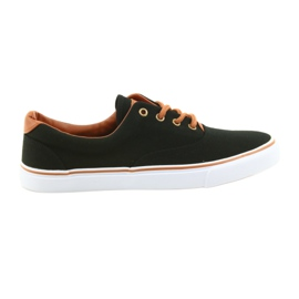 American Club Chaussures homme noires LH03