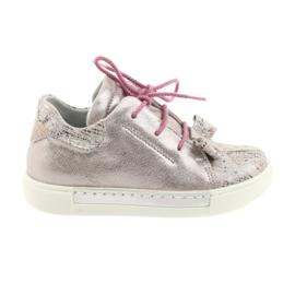 Ren But Chaussures en cuir du Rhin 3303 rose perle